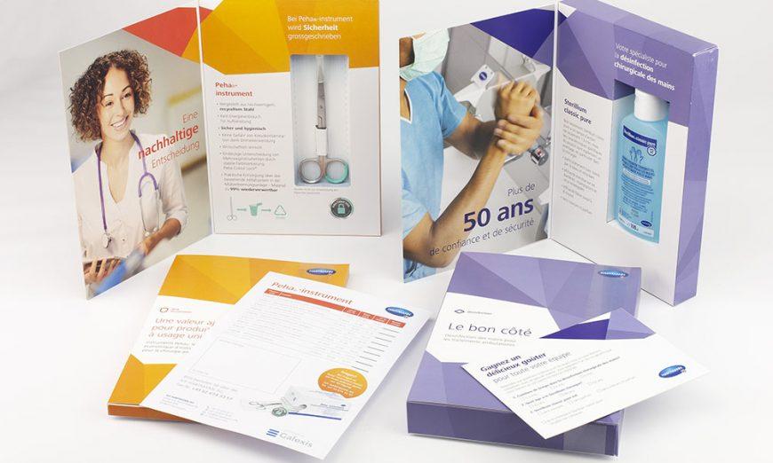 IVF Sterilium und Schere