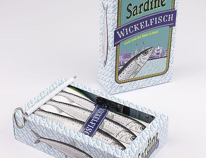 Sardinendose Wickelfisch
